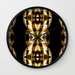 DIGI TRIBE YELLOW Wall Clock