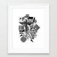 technology Framed Art Prints featuring Outrunning Technology by David Chestnutt