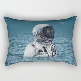 lost at sea Rectangular Pillow