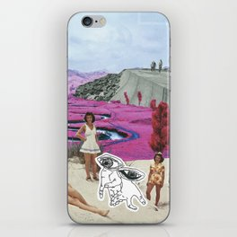 Look With Your Eyes, Not Your Hands iPhone Skin