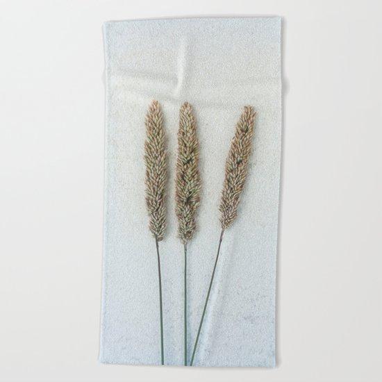 Summer Grass Beach Towel