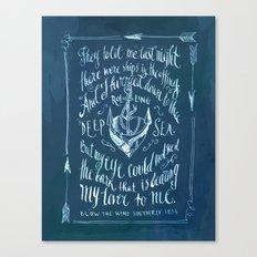 Old Sailor Song No.2 Canvas Print