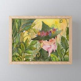 Snusmumriken / Snufkin Framed Mini Art Print