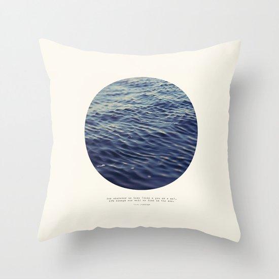 You or Me Throw Pillow