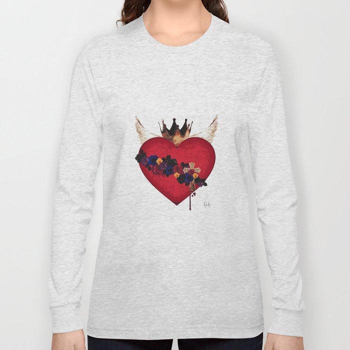 Sacred Heart for Frida Long Sleeve T-shirt