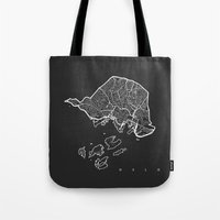 oslo Tote Bags featuring OSLO by Nicksman