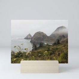 View of Sisters Rock Mini Art Print