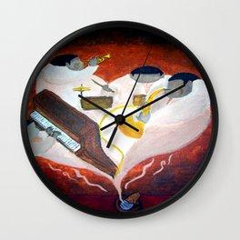 Soulful Drift Wall Clock