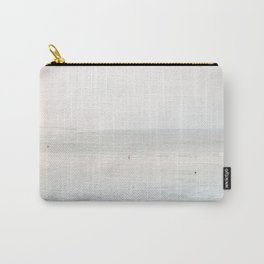 At the Seaside (three) - minimal beach series by Ingrid Beddoes Carry-All Pouch
