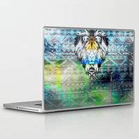 the lion king Laptop & iPad Skins featuring KING LION by sametsevincer