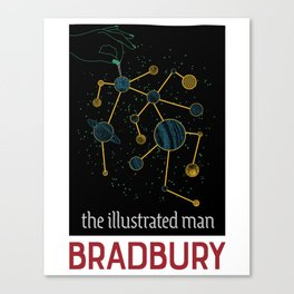 The Illustrated Man Canvas Print