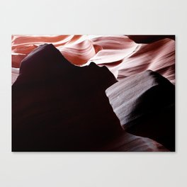 Canyon Abstract 5 Canvas Print