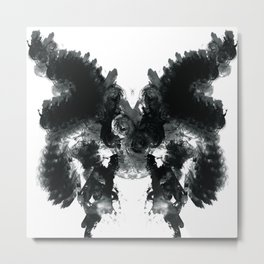 Inked butterfly Metal Print