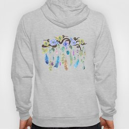 Wild Wood Roses And Twisted Branches Spirit Gazer Hoody