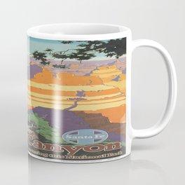 Vintage poster - Grand Canyon Coffee Mug
