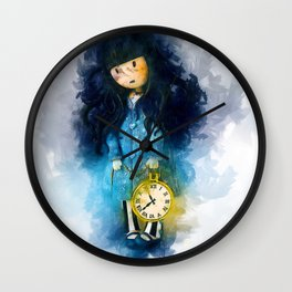 Time For Bed Wall Clock