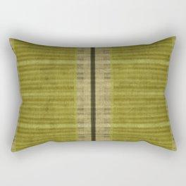 """Simple Oriental Curtains (Green)"" Rectangular Pillow"