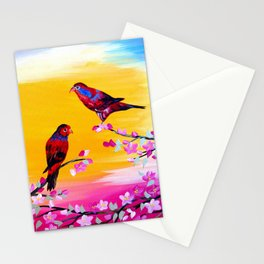 Lorikeets Stationery Cards