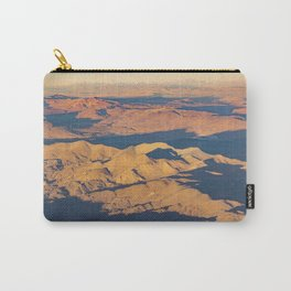 Andes Mountains Desert Aerial Landscape Scene Carry-All Pouch