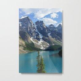Lake Moraine Metal Print