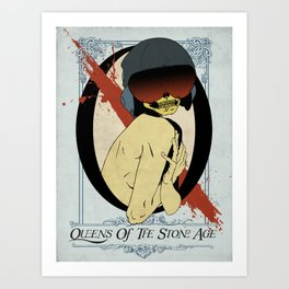 QOTSA Art Print