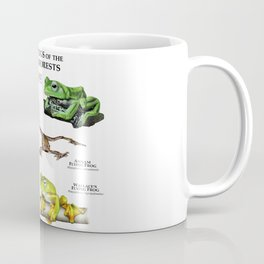 Gliding Frogs of the Asian Rainforests Coffee Mug