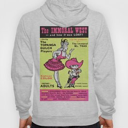 Vintage Film Poster - Wild Gals of the Naked West (1962) Hoody