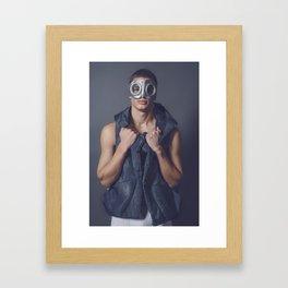 #38 Bono Framed Art Print