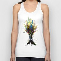 creativity Tank Tops featuring Creativity by Tobe Fonseca