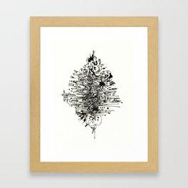 Inkstain Framed Art Print
