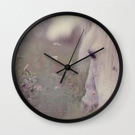 happy here Wall Clock