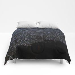 Epic Star Trail Photo Comforters