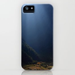 Fields Highlighted by Sunlight Pisang iPhone Case