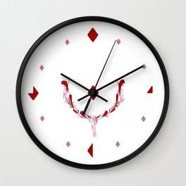 POKER DIAMONDS Wall Clock