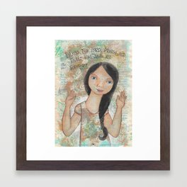 Forever by patsy paterno Framed Art Print