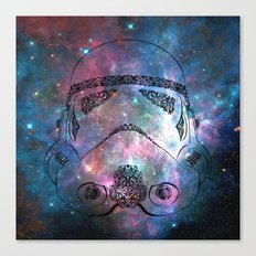 Soldier galaxy Canvas Print
