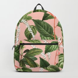 How Lovely Is the Silence of Growing Things #botanical Backpack