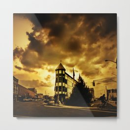 Golden Memoirs Metal Print