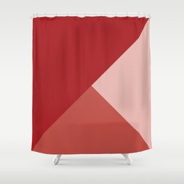 Red Tones Shower Curtain