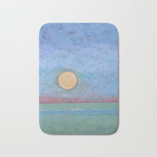 Abstract Landscape VI Bath Mat