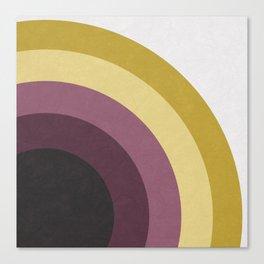 Five Circles Canvas Print