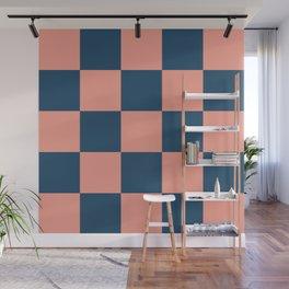 Classic Contrasty Checker Ladon Wall Mural