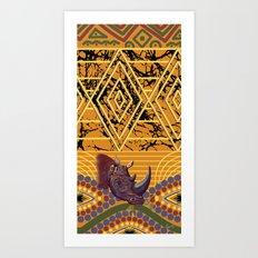 Chipembere ... Africa Art Print