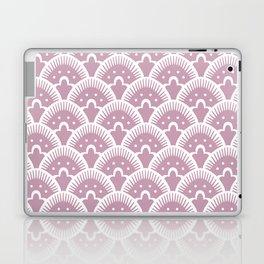Fan Pattern 431 Dusty Rose Laptop & iPad Skin