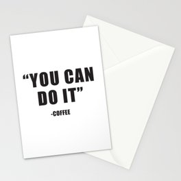 You can do it Stationery Cards