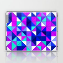 purple and blue Laptop & iPad Skin