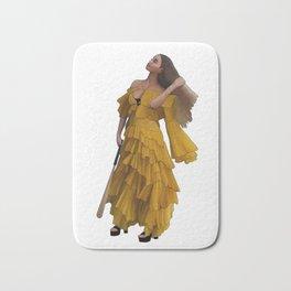 Queen Bey Hold Up digital artwork Bath Mat