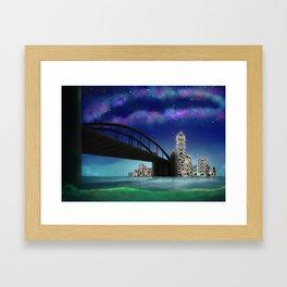 Skyline Artwork Framed Art Print