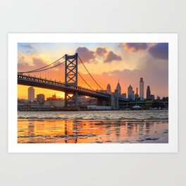 Philadelphia 02 - USA Art Print