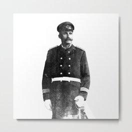 Merchant Marine (Black & White) Metal Print